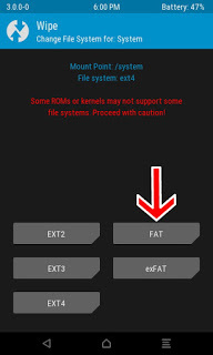 repair Failed To Mount System HTC One E8