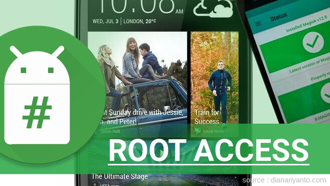 Root HTC Desire 500 Tanpa PC